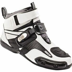 Joe Rocket Atomic Riding Shoes - White/Black, All Sizes