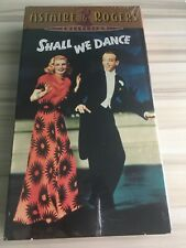Fred Astaire And Ginger Rogers Collection Shall We Dance VHS Tape (Brand New)