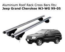Aluminium Roof Rack Cross Bars fits JEEP GRAND CHEROKEE WJ-WG 1999 - 2005
