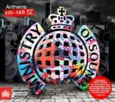 Anthems Hip Hop 4 by Various Artists Audio CD Discs 1 Ministry of Sound Gift