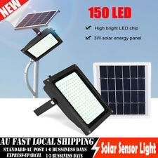 150LED Solar Sensor Security Lamp Motion Detection Ultra Bright Shed Wall Light