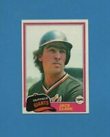1981 Topps Set Break Jack Clark Baseball Card #30  San Francisco Giants