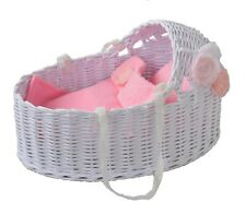 Cradle Babe Reborn Silicone Bed Waldorf Doll Sleeping Toys Crib MADE in EUROPA