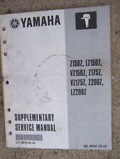 2000 Yamaha Z150Z Lz150Z Vz150Z Z175Z + Outboard Supp Service Manual . U