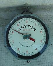 ancienne balance DAYTON OCTAGON SCALE hanging australia mesures DOUBLE FACE