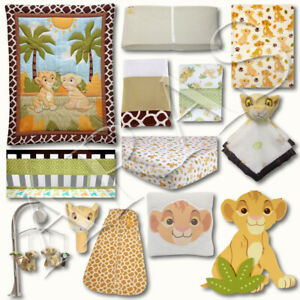 Lion King: Jungle Fun 16 Pc. Crib Bedding Set by Disney Baby