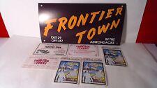 Lot of Vintage FRONTIER TOWN Amusement Park Souvenir Items Adirondacks, NY