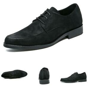 Formal Mens Pointy Toes Dress Pumps Work Office Oxfords Lace Up Shoes Sz38-44
