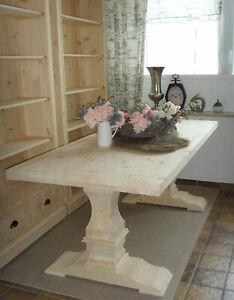 Esstisch Tisch Klostertisch Massiv Holz  Landhaus 90 x 210 cm NEU Schreinerqual