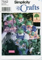Simplicity 7542 30 inch FROG BODY Clothes Heigl Appletree Sewing Pattern UNCUT