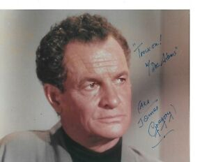Rare James Gregory Hand Signed Autographed Star Trek: TOS  Doc Adams W/COA LooK
