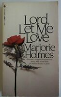 Lord- Let Me Love by Holmes Marjorie Book The Fast Free Shipping