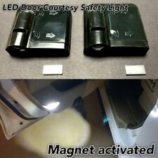 2x Car Door Step Courtesy Welcome Laser Wireless Shadow LED Lights B1 For BENZ