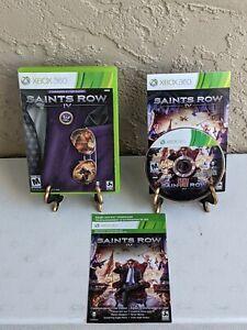Saints Row 4 Commander In Chief Edition Xbox 360 Complete CIB - Good Disc