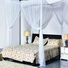 4 Corner ornament Mosquito Net Bed Canopy Quarto Door Tent Queen Full King Size