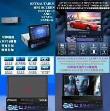 Car Retractable Screen With Bluetooth,MP5,Reverse Function Multimedia AV Device