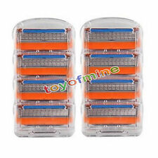 8pcs For Gillette Fusion Proglide Power lamette da barba BLISTER NUOVO
