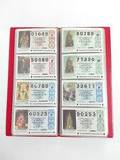 Coleccion Loteria Nacional 1996-97 Arte en las Catedrales, incluye Archivador.