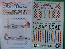 1:72 Scale Decals - 86th FBG Thunderjets Pt. I  AeroMaster No. 72-195 NEW  F-84G