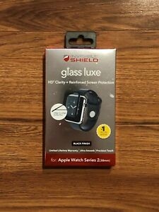Zagg Glass Luxe Apple Watch Screen Protector 38 mm - New