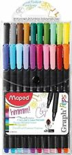 Maped Peps 20 Pack Markers Fineliners Art School Supplies 749151 *Fast Shipping!