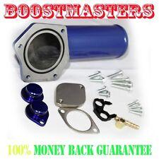For 08-10 Ford 6.4L Powerstroke Diesel Blue Bypass & EGR Delete Kit Intake Elbow