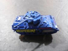 Vintage Maisto M2 Bradley IFV Wolverine X-Men Marvel Comics Blue Tank toy car