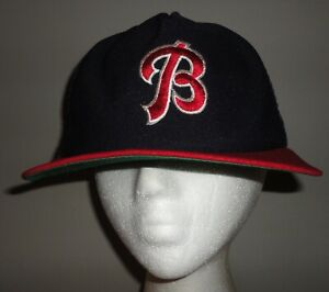 Vintage BUFFALO BISONS Blue & Red NEW ERA PRO DESIGN Mesh Snapback Hat