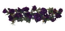 PURPLE SWAG Roses Hydrangea Silk Wedding Flowers Arch Gazebo Table Centerpieces