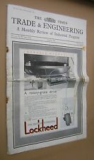 THE TIMES TRADE & ENGINEERING REVIEW INDUSTRIAL PROGRESS. 1946. AVIATION ETC.