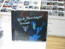 RICK DERRINGER & FRIENDS CD SPANISH LIVE ON THE KING BISCUIT FLOWER HOUR 2000