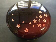 HAKOYA Lunch Bento Box 50626 Akane Sakura Cherry Blossoms Red MADE IN JAPAN
