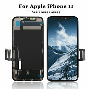 For iPhone 11 Screen Replacement LCD  Retina OLED 3D Touch Digitizer Upgrade