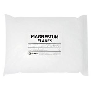 MAGNESIUM FLAKES | 5KG BAG | 100% Pure | Bath Soak | Magnesium Chloride