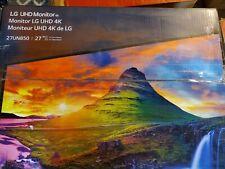 LG 27UN850-W 27 Inch Ultrafine UHD 4K Monitor(3840 x 2160) Brand New Open box
