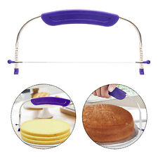 Stainless Steel Cake Cutter Slicer Wire Bread Cutting Adjustable Decorating Tool