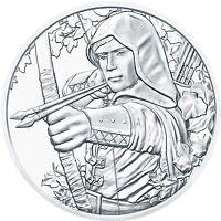 Österreich 1,5 Euro 2019 Robin Hood 1 Oz Silber Anlagemünze 825 Jahre Münze Wien
