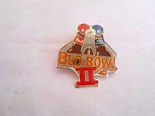 Vintage Bud Light vs Budweiser Beer Bud Bowl Ii Super Bowl Commercial Pin