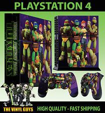 PS4 Piel Nick TOON Teenage Mutant Ninja Turtles Pegatina + Pad VINILO Stood