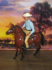 Hartland Rifleman Lucas McCain cowboy with horse saddle hat gun rifle