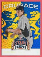 2015 Bradley Zimmer Panini USA Stars and Stripes Crusade Rookie - Indians