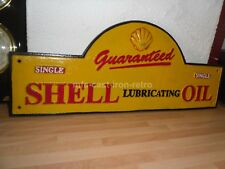 Cast Iron Shell Large Plaque