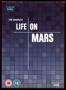 Life On Mars Complete Series - R2 8 Disc DVD BBC TV Series