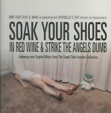 VARIOUS ARTISTS - SOAK YOUR SHOES IN RED WINE & STRIKE THE ANGELS DUMB USED - VE