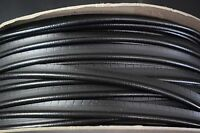 5 Yards Black Vinyl Welt Cord Piping Marine Outdoor Auto Fabric Boat Upholstery