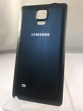 Genuine Original Samsung Galaxy Note 4 Black Replacement Battery Back Cover