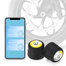 Motorcycle Wireless TPMS Tire Pressure Monitoring System APP Display For iPhone