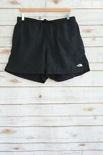 The North Face - Black active brief lined shorts SIDE pockets BELT, size XL