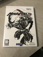 NEUF NEW madworld mad world sega nintendo WII sealed blister