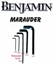 Benjamin Marauder Advanced Tuning Technicques Hex Keys- .050  5/64 1/8 3/16 1/4
